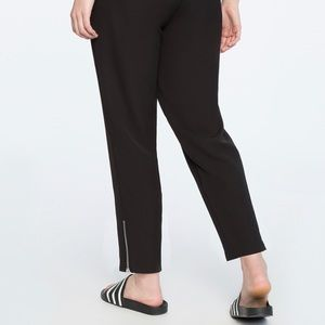 Eloquii Ankle Zip Joggers (Plus Size 22)